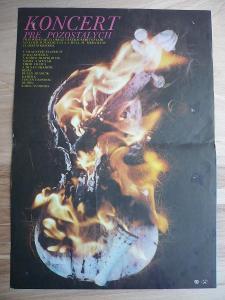 Koncert pre pozostalých (filmový plakát, film ČSSR 1976