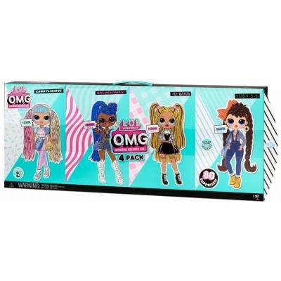 MGA L.O.L. OMG série 2 balení 4 panenek Candylicious Alt Grrrl Busy BB