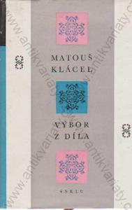 Výbor z díla František Matouš Klácel 1964 SNKLU