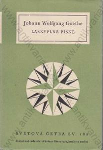 Láskyplné písně Johann Wolfgang Goethe 1958