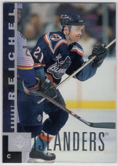 Robert REICHEL - Upper Deck 97-98 #104 * NYI - Sportovní sbírky
