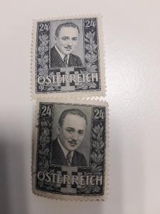 ANK 1934  Dollfuss č 589-590   * od korunky !!!!