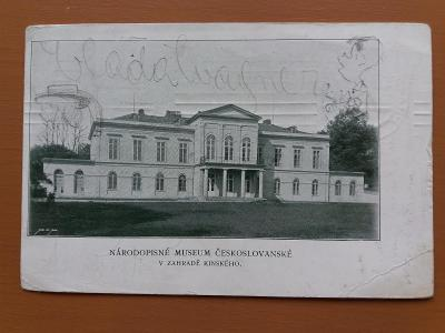 Praha Smíchov -Národní muzeum  ČS
