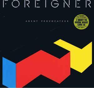 FOREIGNER - Agent Provocateur - CD 1984