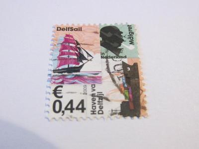 Prodávám známky Holandsko 2009, Kontejnerové lodě a plachetnice