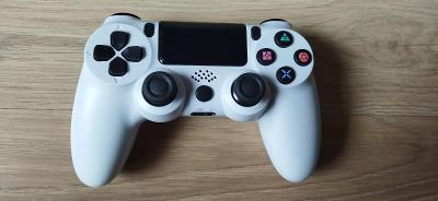 Ovladač pro Playstation 4 bílá, PS4, aukce od 1,-!