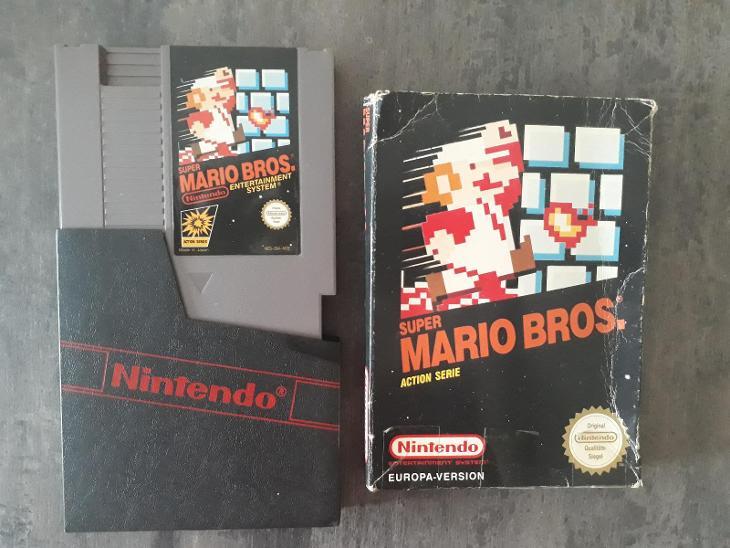 Nintendo NES  Super Mario Bros  - Hry