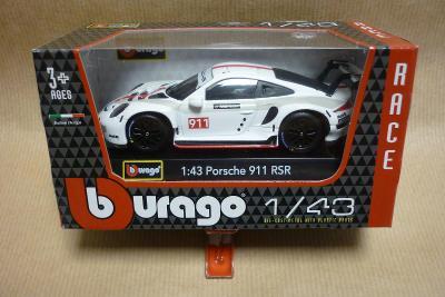 Porsche 911 RSR  Bburago  1/43