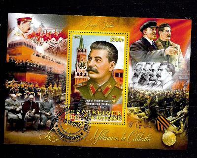 Pobřeží slonoviny 2012-Stalin, Lenin, Churchill, Roosevelt,Marx,Engels