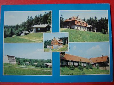 UHERSKÝ OSTROH Rekr.chaty LSD Jednota Mikulčin vrch RS Kopánky Retro
