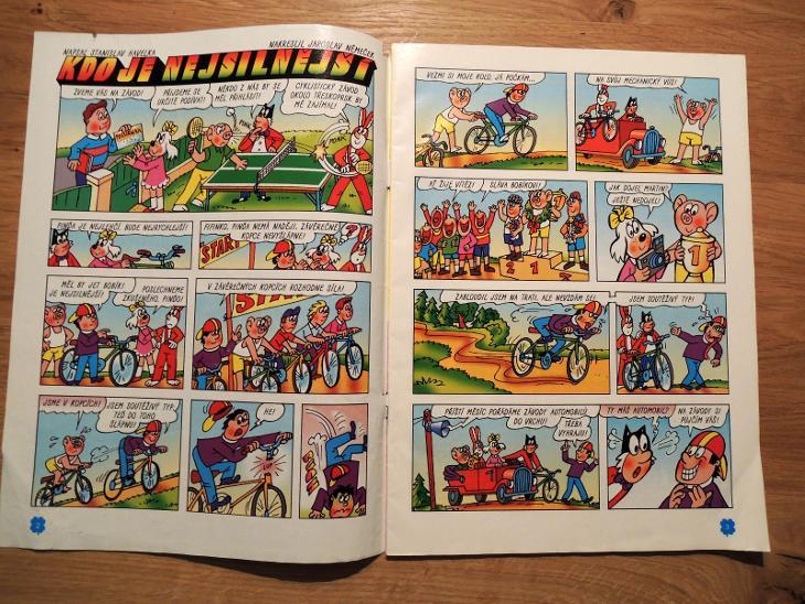 Čtyřlístek č.368 Kdo je nejsilnější? , Čtyřlístky - Komiksy