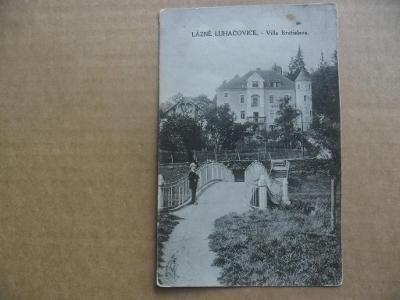 Lázně Luhačovice Zlín villa Bratislava