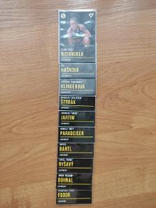 Oktagon MMA karty. Lot 44 karet Base.