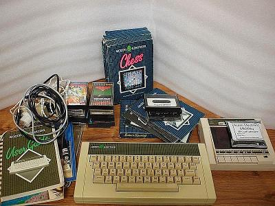 Acorn Electron, magnetofon, interface na SD kartu, kazety se software