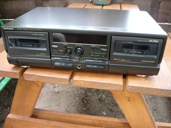 Technics rs tr 474 - TV, audio, video