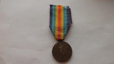 Medaile Za vítězství 1. světová válka 1914 -1919 Anglie