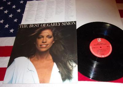 ⭐️ LP: CARLY SIMON - BEST OF (You 're So Vain) jako nová MINT! Germany