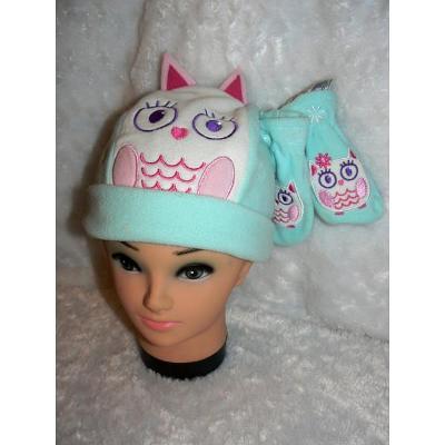 CHEROKEE 18-24 mnth Set na zimu SOVIČKA čepice + rukavice *JAK NOVÁ*