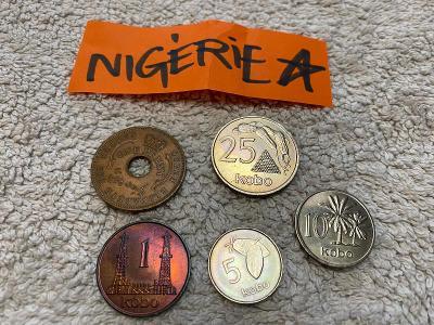 mince NIGÉRIE 1959-76
