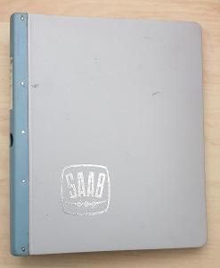 SAAB 99 - katalog náhradních dílů (1969)