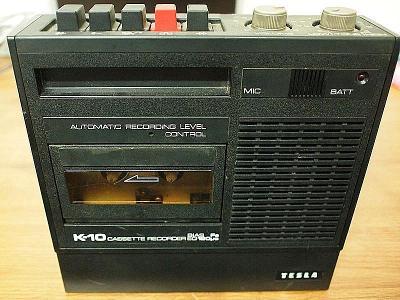 Magnetofon Tesla K-10 k SAPI