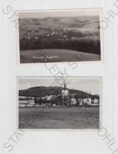 2x Čermná (Ústí nad Orlicí), pohled na město, část