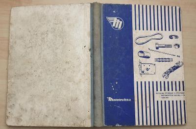 Katalog výzbroje a výstroje motorových vozidel IV. (1958)
