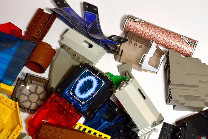 LEGO Dílky Mix - Hračky