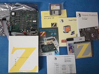 emulátor pro programování procesorů Zilog Z8 s českou literaturou