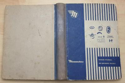 Katalog výzbroje a výstroje motorových vozidel II. (1958)