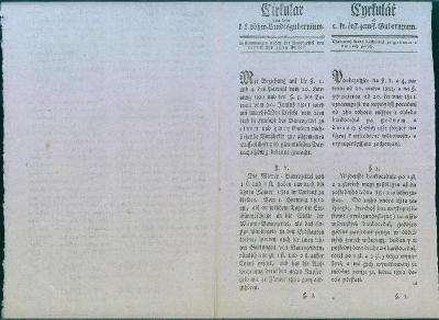 13D71 Cirkulář - uvedení na trh cenné papíry - bankocedule, vzácné