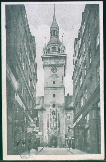 10D3042 Brno - stará radnice