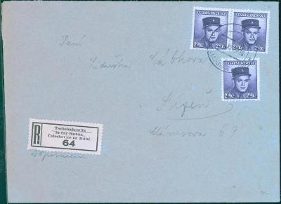 11B444 R dopis Čelechovice na Hané - Plzeň