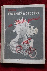 Kniha Jawa předválečná Motocykl Jawa Robot Tajemný motocykl