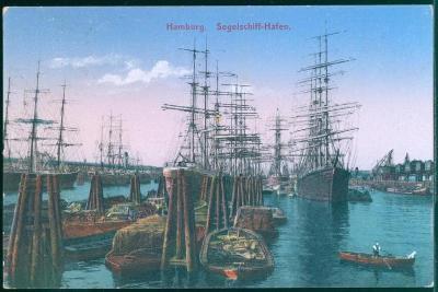 27A782 Hamburg - přístav plachetnic, Německo / Deutschland