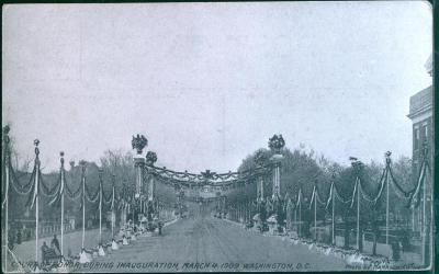 27A790 Washington D.C. inaugurace prezidenta 4.3.1909, USA
