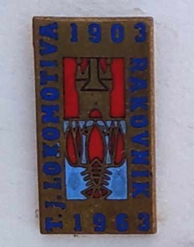P52 1 kus - TJ LOKOMOTIVA RAKOVNÍK 1903 / 1963