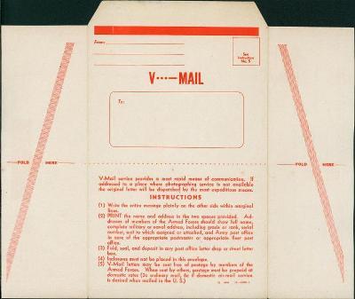 11B510 Neprošlý V - mail ( VICTORY MAIL)