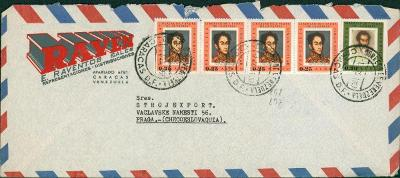 21B199 Podniková korespondence- VENEZUELA/ Strojexport Praha