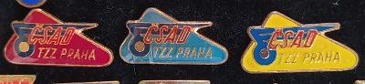 P98 Odznak ČSAD TZZ Praha   3ks