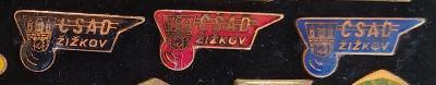 P98 Odznak ČSAD Praha Žižkov  3ks
