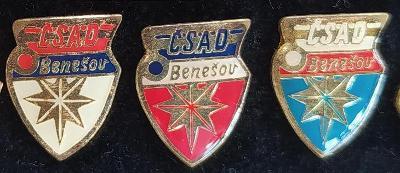 P98 Mimořádný odznak ČSAD Benešov   3ks