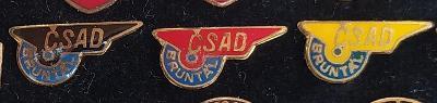 P98 Odznak ČSAD Bruntál  3ks