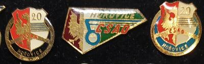P98 Odznak ČSAD Hořovice  3ks