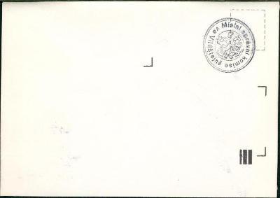 11C108 Neprošlá obálka - razítko MNV Vildštejn, okres Cheb