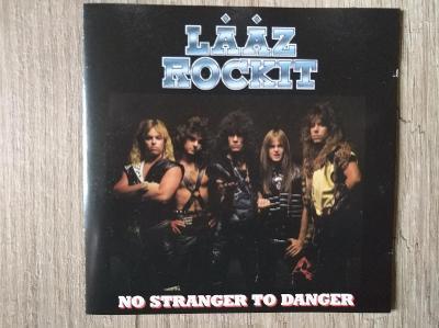 CD- LAAZ ROCKIT-No Stranger To Danger/leg. thrash,heavy,U.S.reed 2009