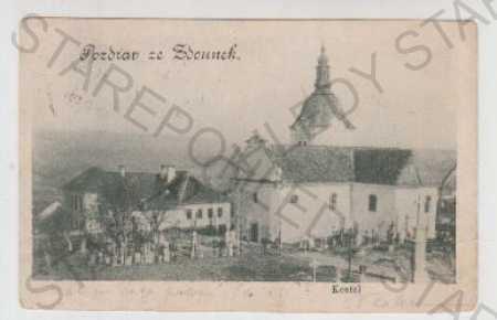 Kroměříž, Zdounky, Kostel, Hřbitov, Hrob, DA