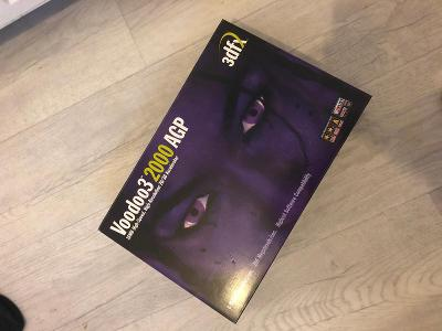 Voodoo 3 3dfx originál krabice