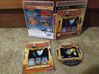 Worms Collection (3 hry v 1) PS3/Playstation 3