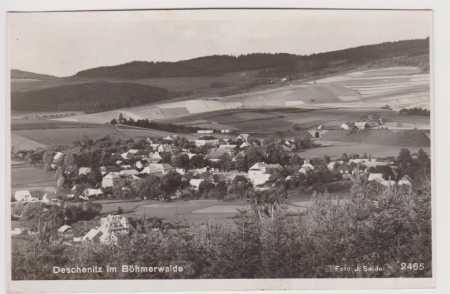 Dešenice (Deschenitz) - celkový pohled, foto Seide
